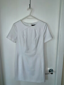 White dress - banana republic