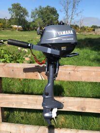 2004 Yamaha Outboard 2.5hp Four Stroke