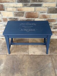 Piano bench side table
