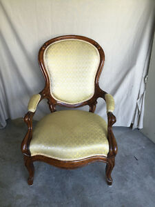 ***ANTIQUE***Walnut Carved Chair 1880's