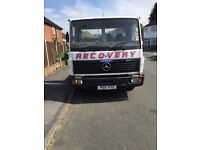 "Mercedes Recovery Truck 7.5Ton 'Tilt & Slide' Ideal Export! Bargain £2,850""OFFERS WELCOME"""