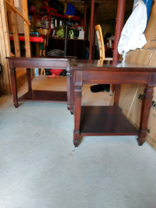 Solid Wood Mennonite End Tables