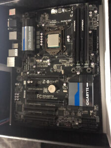 Intel i5-4670, GA-Z87 Motherboard and 24GB RAM Included.