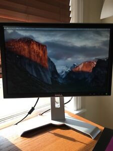 "Dell ultrasharp 1908WFP 19"" LCD monitor - excellent condition"