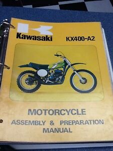 KX400A2 Assembly & Prep Manual 1975 Edmonton Edmonton Area image 1