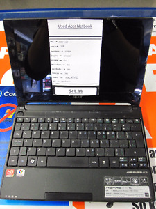 """Used Acer Aspire One 522 10.1"""" Netbook"""
