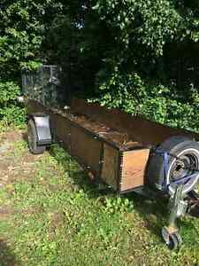 Utility trailer 4 x14 ft great for 2 atvs