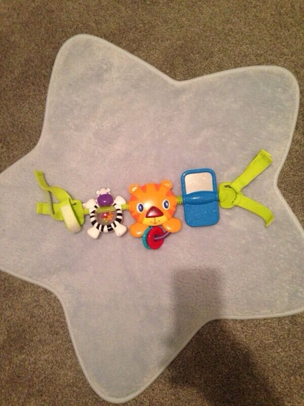 Bright starts car seat toy