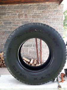 Four Michelin MNS tires 255- 70R- 16