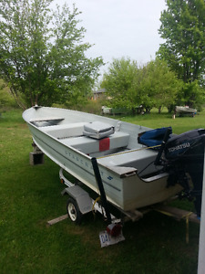 Tohatsu Outboard and Starcraft Fishing Boat