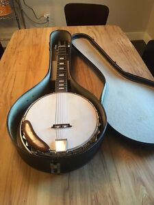 6 string banjo reduced!!