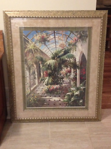 Framed James Reed Artwork