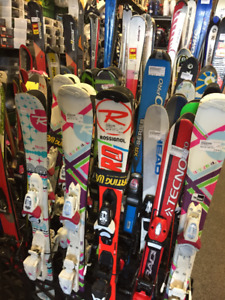 HUGE Selection of Used SKIS and BOOTS