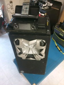 Stereo amp and sub stereo