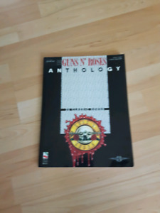 Guns N Roses Anthology guitar tab book