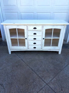NEW Antique White Buffet $550.