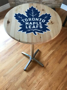 Toronto Maple Leafs Pedestal bar table Memorabilia