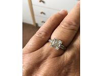 18ct White Gold 1ct Diamond Ring
