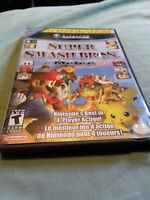 super smash bros melee gamecube mint and complete