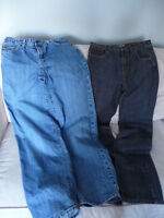 2 pairs Old Navy jeans - boy size 18
