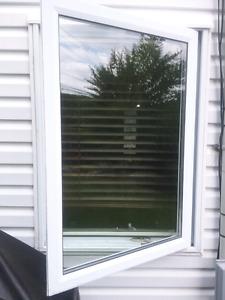 Fenêtres ( lot de 9) a vendre