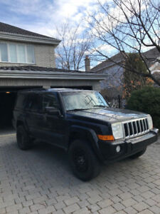 2006 Jeep Commander SUV 4x4 AWD CUIR TOIT PANO 7 PASSAGERS