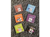 Diary of a Wimpy Kid Audio books cds x 6