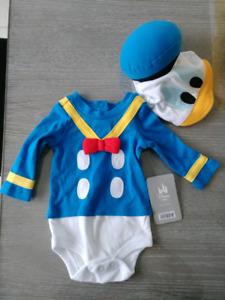 NEW! Baby Donald Duck Outfit