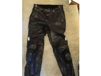 Richa Leather trousers size 36R