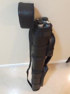 2 Mike Massey Billiard Cue + Leather Case