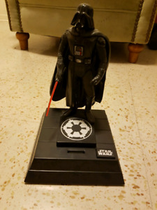 Star Wars 1996 Darth Vader Coin Bank - talks and moves