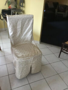 Highend Quality fabric wedding or event chair covers x 50