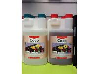 Canna coco A And B 1L complete nutrient for fast growing plants