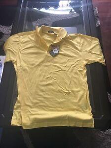 mans golf shirt