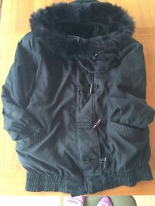 Manteau bernardo collet fourrure