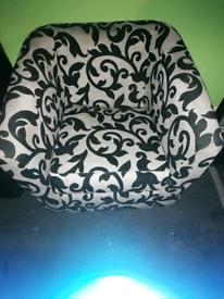 Next Floral Arm Chair