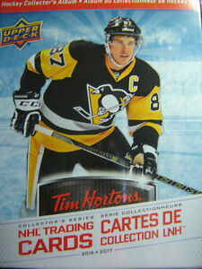 TIM HORTON'S HOCKEY CARDS 2017 SON WANTS TO MAKE EVEN TRADES!!