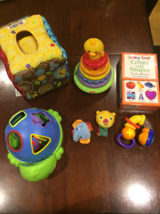 Assorted baby/toddler toys