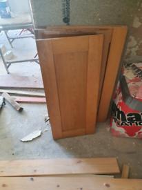 Kitchen doors.