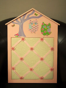 Baby Fabric Pin Board Photos