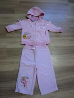 BABY GIRLS WINNIE THE POOH TWO PIECE SUIT - SIZE 6 to 12 MONTHS