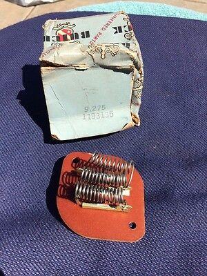 1960 1961 1962 Buick Le Sabre Invicta Electra NOS A/C AC Blower Resistor