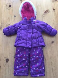 Carters Infant 2 Piece Snowsuit - Size 12m