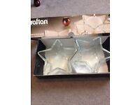 Quality candle holders star shaped