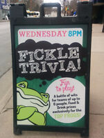 Pub Night Trivia at The Fickle Frog with comedian Andrew Evans