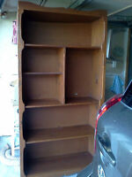 Real wood bookcase,wall unit, entertainment center