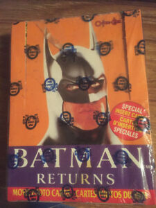 Batman returns movie and o-pee-chee trading cards