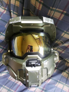 Neca DOT Approved Halo Master Chief Motorcycle Helmet