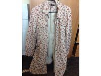 F&F Ladies Rain Coat/Jacket Size 14