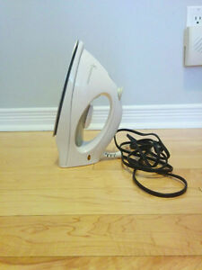 Steam and Dry Iron, comes with box and instructions